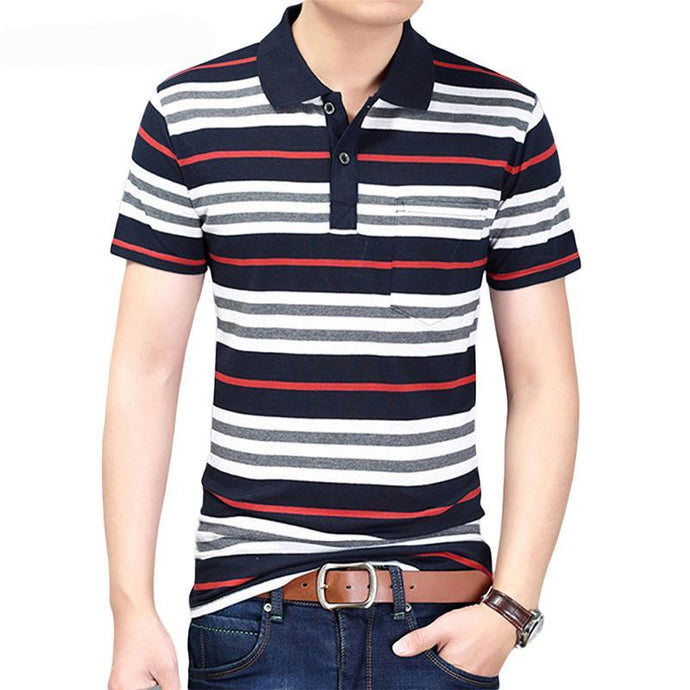 Fashion Brand Striped Men - 64 Corp