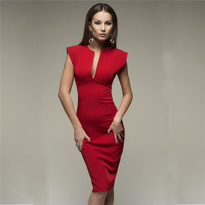 Vintage Elegant Club Christmas Party Dress - 64 Corp
