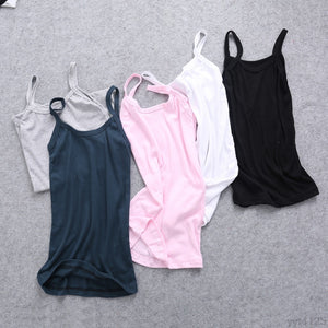 Summer Stretchable Backless Slim Sling Tank Tops - 64 Corp
