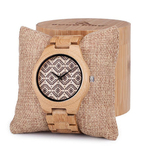 Minimalism Luxury Simplicity Bamboo Wooden Watches - 64 Corp