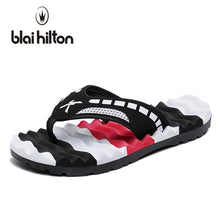 blaibilton 2018 Summer Mixed Colors Massage Beach Slippers Men Shoes Flip Flops Patchwork EVA Casual Outside Slipper Male Soft - 64 Corp