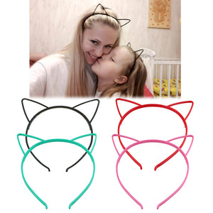 Black Cat Ears Head Bands - 64 Corp