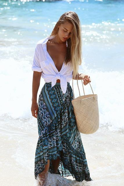 Walking By The Water Boho CoverUp - 64 Corp