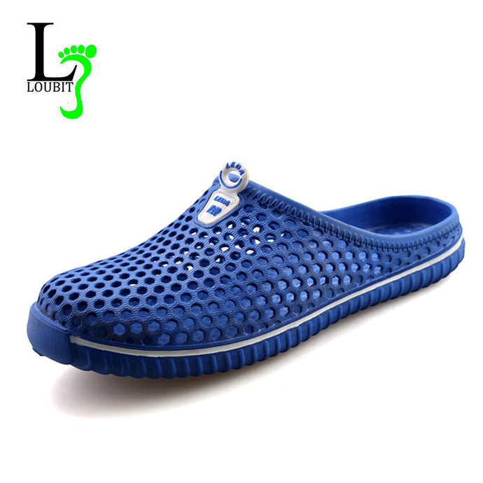 Summer Cool Water Flip Flops Men High Quality Soft Massage  Slippers Fashion Man Casual Flats Non-Slip Shoes Size 38-45 - 64 Corp