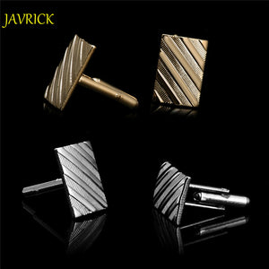 JAVRICK Stainless Steel Silvery Vintage Jewelry Wedding Gift Men's Cuff Links Cufflinks for Wedding Best Man Usher New - 64 Corp