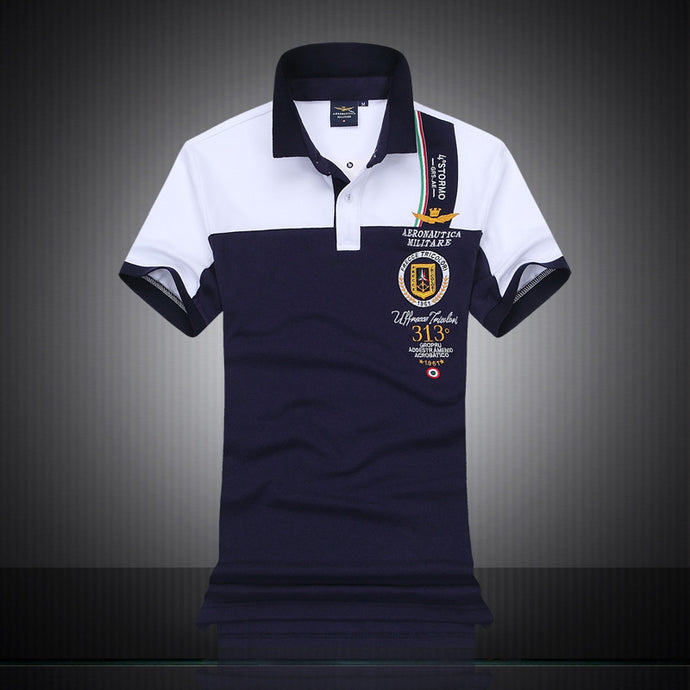 Air Force One Top Quality Embroidery Polo Shirt - 64 Corp