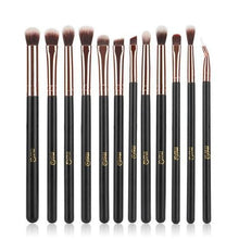 12pcs Eyeshadow Makeup Brushes Set - 64 Corp