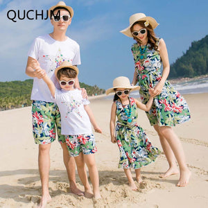 New Beach Family Matching Sets - 64 Corp