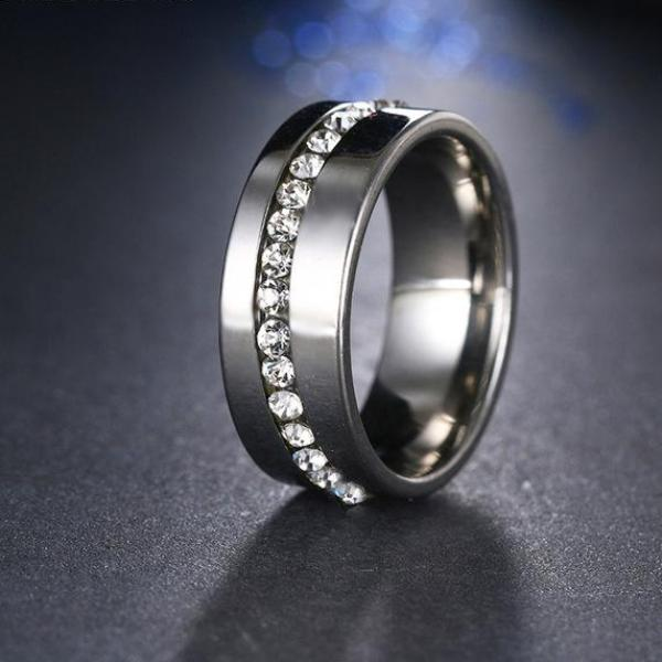 Titanium Stainless Steel Rings - 64 Corp