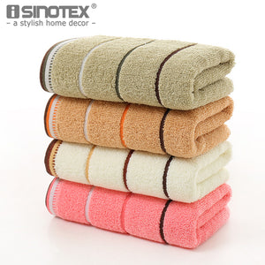 34*74cm 100% Luxury Cotton Face Towel Washcloth Highly Absorbent Extra Soft Fingertip Hand Towels for Home Sport Gym and Spa - 64 Corp