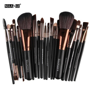New Pro 22Pcs Cosmetic Makeup Brushes Set Blush Powder Foundation Eyeshadow Eyeliner Lip Make up Brush Beauty Tools Maquiagem - 64 Corp