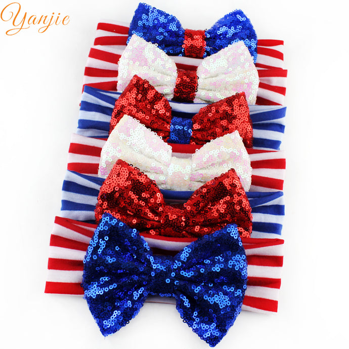 Girls 4th of July Headband For 2018 Independence Day - 64 Corp
