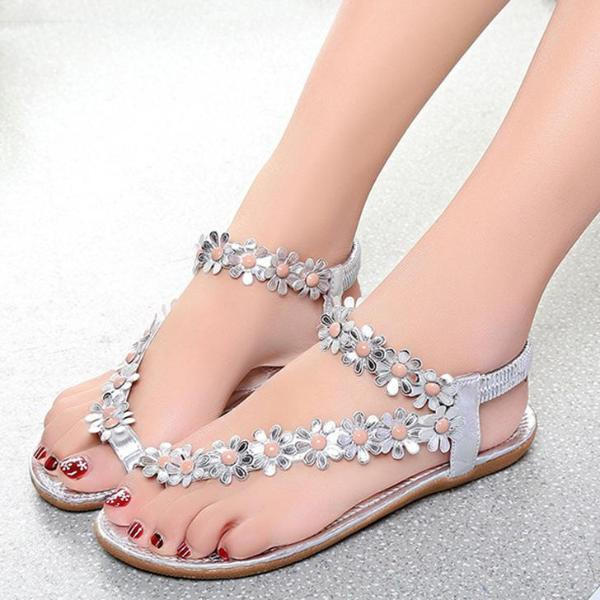 Bling Bowtie Fashion Peep Toe Jelly Sandal - 64 Corp