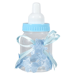 12pcs/lot Baby Bottle Candy Box Baby Feeding Bottle Wedding Favors and Gifts Box Baby Shower Baptism Decoration Party Supplies - 64 Corp