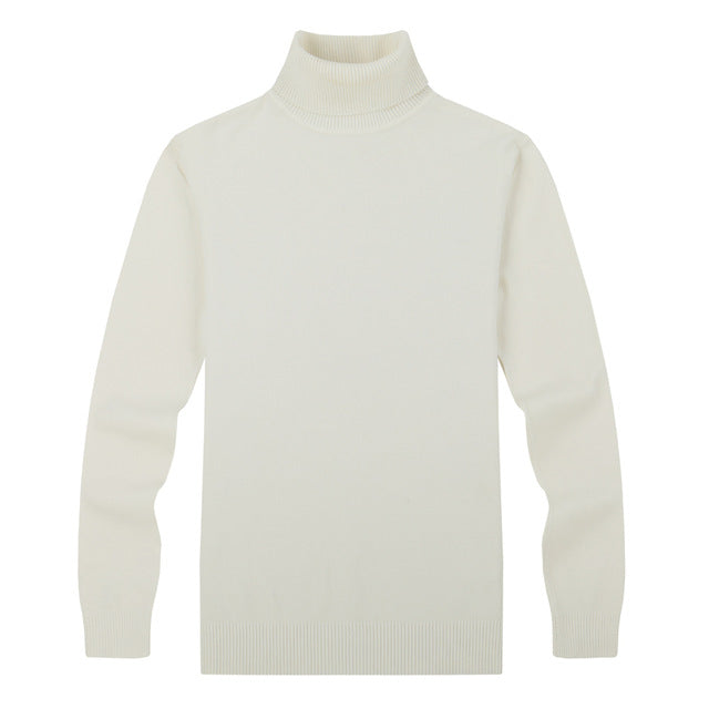 Turtleneck Slim Pullover - 64 Corp