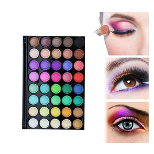 40 Color Matte Eye shadow Pallete - 64 Corp