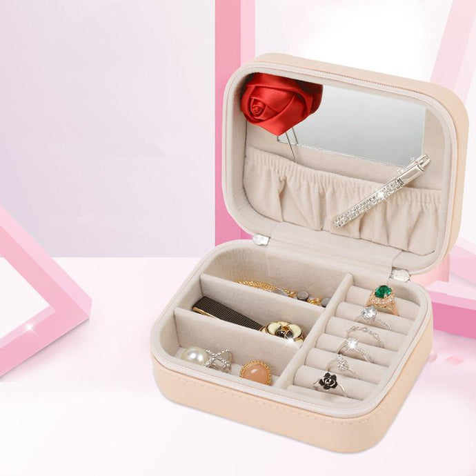 LIYIMENG Makeup Organizer Jewelry Storage Cosmetic Box Make Up Casket Chancery Travel Container Office Casket for Decorations - 64 Corp
