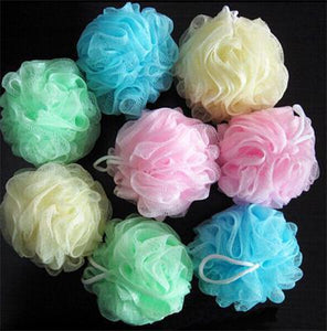 1PCS bath ball bathsite bath tubs Cool ball bath towel scrubber Body cleaning Mesh Shower wash Sponge product High Quality - 64 Corp