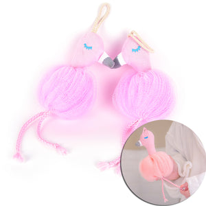Flamingo Bath Towel Scrubber - 64 Corp