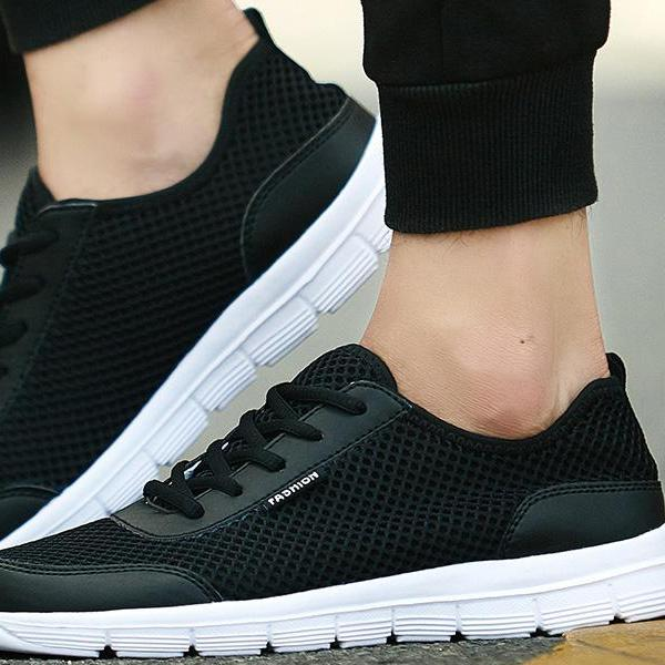 Breathable Casual Shoes Lace Up - 64 Corp