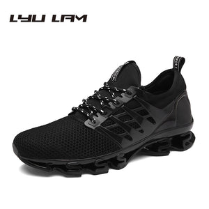 Summer Cool Breathable Men Sneakers Shoes Mesh Casual Shoes Gingham Lace Up Comfortable Shoes For Walk Sneakers For Men - 64 Corp