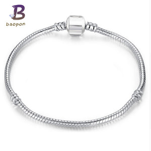 European Style Snake Chain Fit Charm Bracelets - 64 Corp