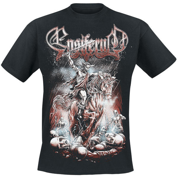 14 kinds Finland Ensiferum Rocker Skull knight Rock Brand clothing folk Viking metal camisetas Streetwear illustration tee - 64 Corp