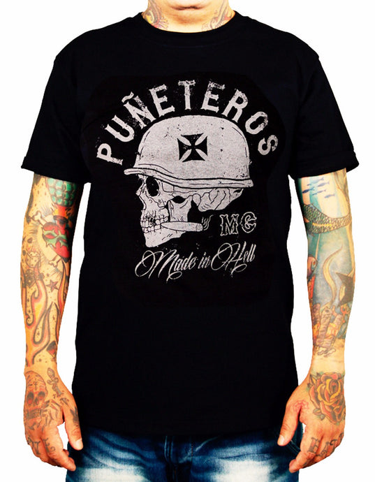 2018 summer men short-sleeved Male Short Sleeve cotton Clothes Tees shirts Tops  SKULL BIKER ROCKER T shirt custom - 64 Corp
