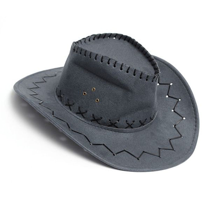 Unisex Denim Wild West Cowboy Cowgirl Rodeo Fancy Accessory Hats - 64 Corp