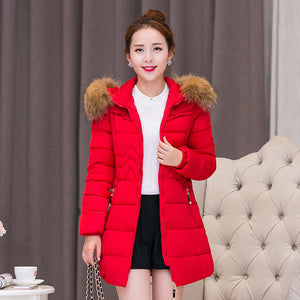 Top Quality New Winter Fashion Women cotton Coat For Female Down jacket cold weather Warm Coat Woman Long Outerwear coat jacket - 64 Corp