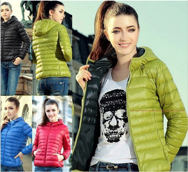 Fashion Spring warm coat super thin women outwear for autumn thin slim jacket coat zipper false cotton coat jacket cold weather - 64 Corp