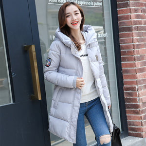 Fashion long women coat winter warm coat Cold weather warm outwear fake cotton coat jacket Winter Down Jacket Women Long Coat - 64 Corp