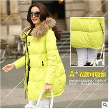 Winter jacket women 2018 new winter coat  thickening warm female down jacket hooded long women's parkas down coats A298