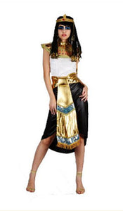 Halloween Costume Couples Costumes Sexy Women Men Egyptian Pharaoh Cleopatra Cosplay Exotic Stage Party Dress