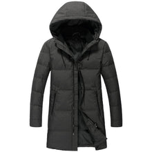 New Brand Russia Winter Men Casual 90%White Duck Down Jacket Men's Down Jackets And Coats Warm Jackets Down Overcoat