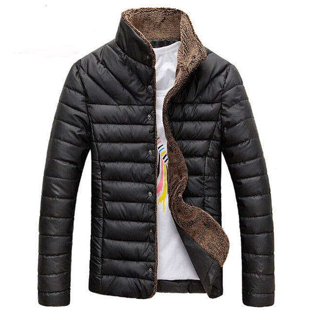 Mountainskin 2018 Autumn Winter Men Warm Jacket Casual Parkas Men's Coat Single Breasted Outerwear Mens Brand Clothing 5XL SA415