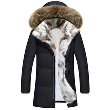 New Women Winter Oversize Down Jacket Lady's Long Hooded Fur Coat Plus Size Thick Hood Down Coats Warm Jackets Green Black White