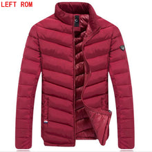 Men's down jacket New Winter parkas Down Coat Men Duck Down Jacket Coats Men Fashi onable stand Thin Warm White Duck Down Jacket