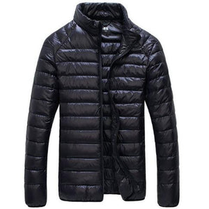 90% White Duck Down Jacket 2018 New Ultralight Men Winter Duck Down Coat Outwear Down Parkas Waterproof Overcoat