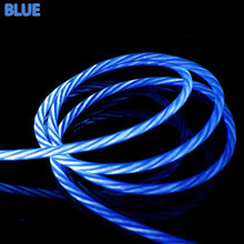 LED Luminous Micro USB Type C Charging Cable For Iphone X 8 Huawei Honor 9 Lite Xiaomi Redmi Note 5/5A Cell Phone Charger Cabel