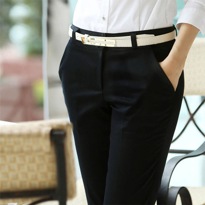 Chic Straight Trousers - 64 Corp