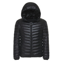 6 Colors 2018 Winter Men's Light Down Jacket Clothes Fashion Casual Hooded Warm White Duck Down Coat Male Brand Clothing