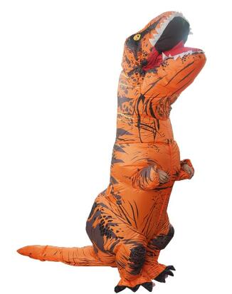 Hospitable Funny Inflatable Dinosaur Costume Toy Kids Adult Dinosaur Jumpsuit Clothing Festival Party Costumes Cosplay Toys Gags & Practical Jokes