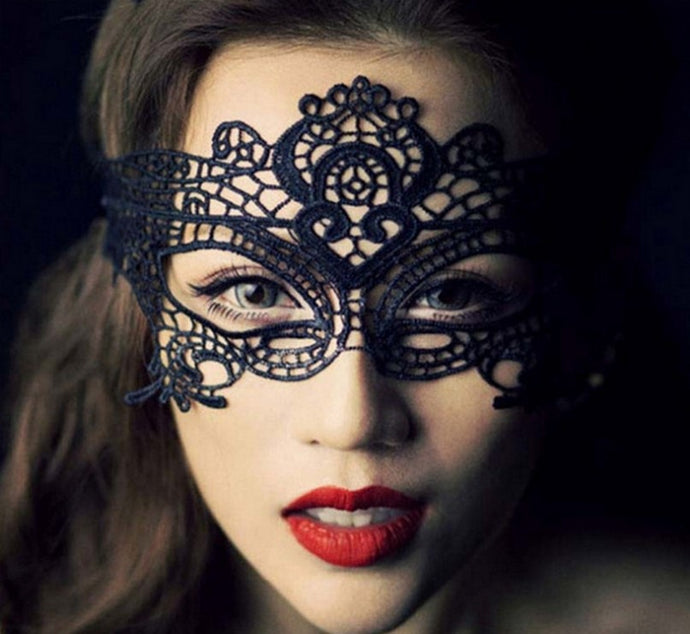 2018 New Girls Women Sexy Ball Lace Mask Catwoman Masquerade Dancing Party Eye Mask Cat Halloween Fancy Dress Costume