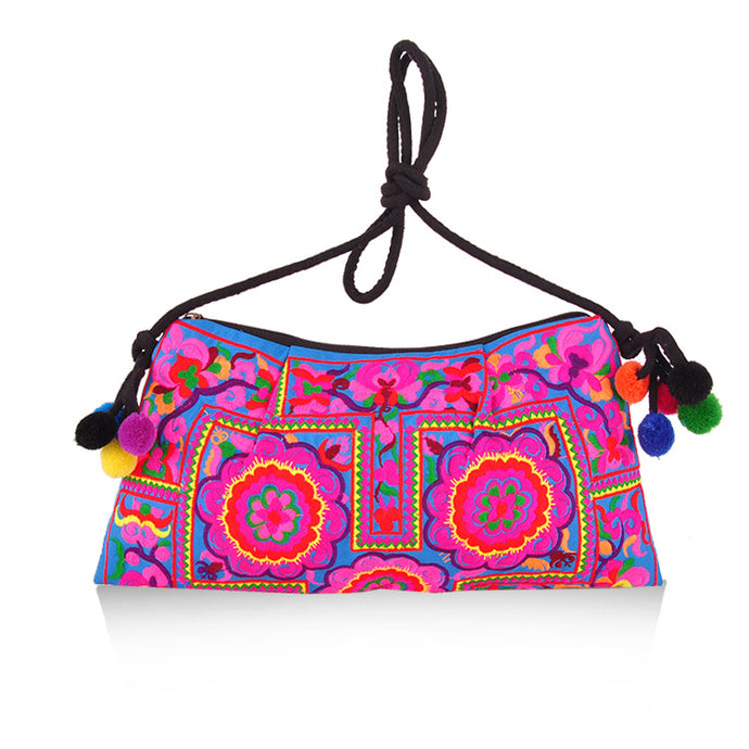 Hot New Women Bag Trend Boho Embroidered Floral Bags Shoulder Messenger Vintage Handbag Gifts New Arrival - 64 Corp
