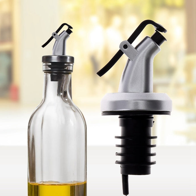 Oil Sprayer Liquor Dispenser Wine Pourers Flip Top Beer Bottle Cap Stopper  Leak Proof Pourer Kitchen Accessories Color Random