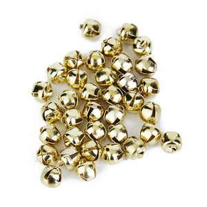 Mini DIY Metal Bells Handy Crafts 6mm Lot of 100pcs christmas decorations for home