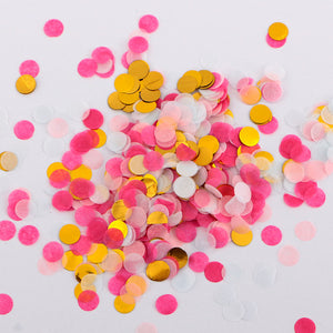 10/30g 1cm Rose Gold Confetti Metallic Pink Gold Paper Circle Confetti Wedding Birthday Party Confetti Baby Shower Decoration