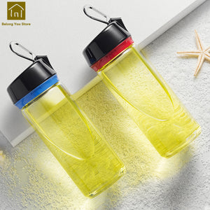 Transparent Large Colored Drinking Creative Glass Cup Durable Safe Glasses Cups Verre Glassware Bottles Glass Products WKE071