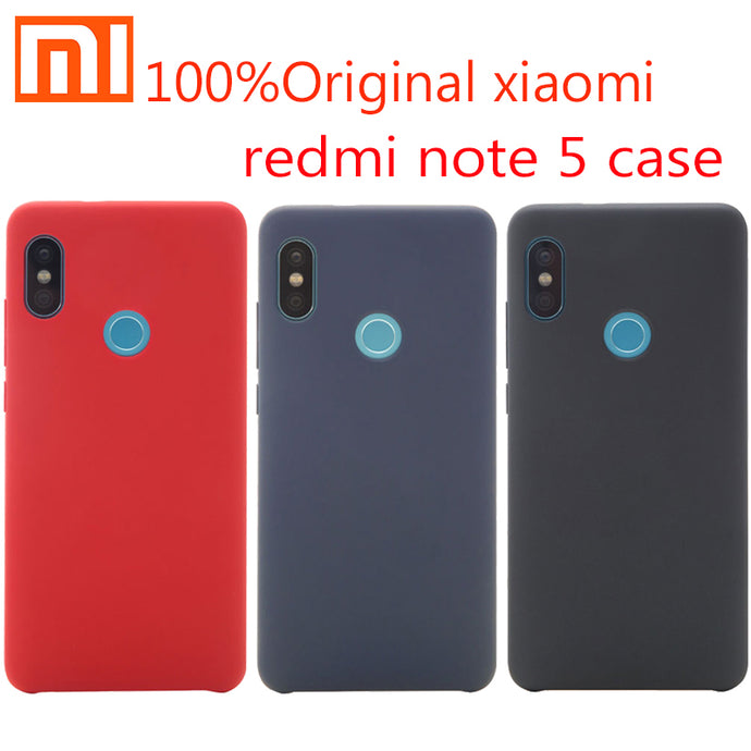 Original Xiaomi Redmi Note 5 Case Cover shockproof Snapdragon 636 Phone protective Back Case hard pc + soft fober Redmi Note5